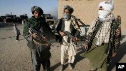 아프가니스탄의 이슬람 무장조직 탈레반 조직원들. (자료사진)