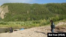 西伯利亞東部的雅庫特地區。俄羅斯和中國將合作在當地開發油氣資源(美國之音白樺拍攝)