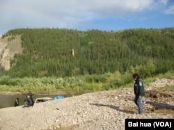 西伯利亚东部的雅库特地区。俄罗斯和中国将合作在当地开发油气资源(美国之音白桦拍摄)