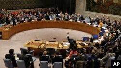 Sidang DK PBB membahas peluncuran misil Korut (foto: dok).