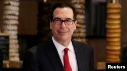 Министр финансов США Стивен Мнучин (архивное фото)