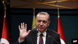 Serokomarê Tirkiyê Recep Tayyip Erdogan