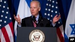 Ông Biden nhắc lại quyết tâm của Hoa Kỳ là sẽ không để Iran có vũ khí hạt nhân.