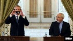 ظریف و وزیر امور خارجه سوئد