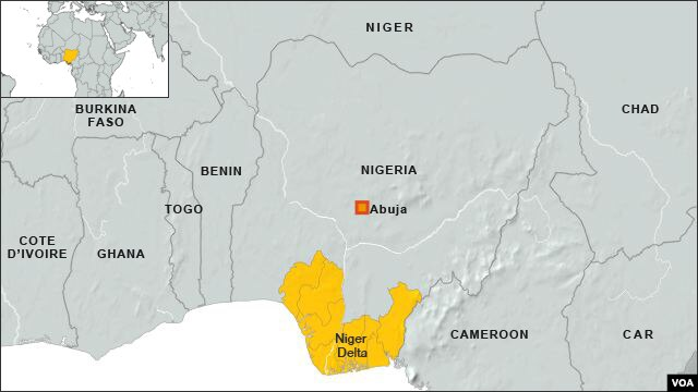 Niger Delta region of Nigeria