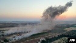 Arşîv: Dîmenek ji erişên dijî heremên li Îdlibê ku di bin kontrola serhildêyan