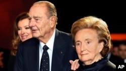 Жак Ширак и его супруга Бернадетт. Архивное фото.