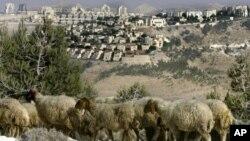 En la imagen, un asentamiento judío al este de Jerusalén.