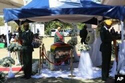 Mugabe burial in Zvimba communal lands, Mashonaland West province.