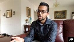 Yves Gomes, uno de los dreamers, estudiante de la Universidad de Maryland, cuyos padres fueron deportados de EE.UU.
