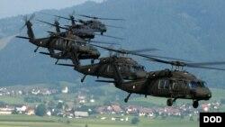 هیلیکوپترهای بلک هاک قابلیت خوب عملیاتی در افغانستان دارد