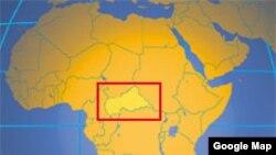 Taswirar Kasar Jamhuriyar Tsakiyar Afrika