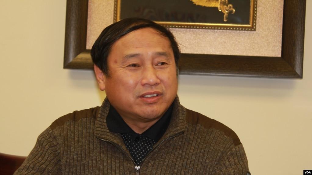 中國民主黨全國委員會主席王軍濤(方冰拍攝)