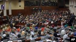 Suasana sidang parlemen Afghanistan, 7 Maret 2015 (Foto: dok).