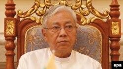 Tổng thống Myanmar Htin Kyaw.