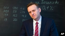Pemimpin oposisi Rusia, Alexei Navalny (Foto: dok).
