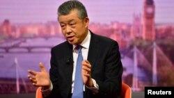 류샤오밍 영국 주재 중국 대사가 7일 영국 공영방송 'BBC'의 일요 위클리 쇼인 '앤드류 마 쇼'에 출연했다.