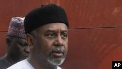 Sambo Dasuki, ancien conseiller national a la securite, fait parti des hauts responsables poursuivis pour corruption.