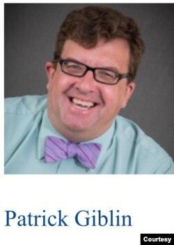 韦伯斯特大学公关主任帕崔克·哥布林。(韦伯斯特大学网页截屏)