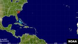 Se espera que la depresión tropical Bonnie se disipe antes del martes.