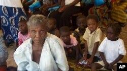 Des villageois à Sesheke, Zambie, 30 Septembre 2010.