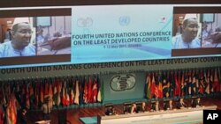 A general view of the 4th United Nations Conference on the Least Developed Countries in Istanbul, May 9, 2011