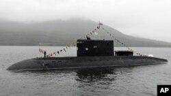 Tàu ngầm lớp Kilo do Nga chế tạo.