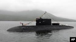 Một trong những tàu ngầm lớp Kilo do Nga chế tạo.