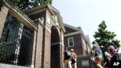 Harvard University in Cambridge, Massachusetts