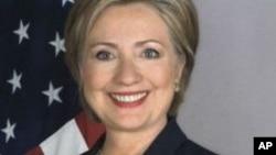 美国国务卿克林顿 (资料照片)