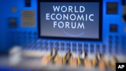 World Economic Forum annual meeting held in Switzerland, in 2010.
