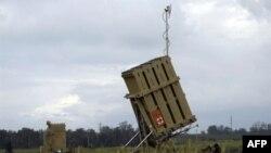 """Hệ thống phòng thủ tên lửa """"Vòm sắt"""" vừa mới được triển khai gần thành phố Ashkelon của Israel"""