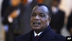 콩고민주공화국의 데니스 사소 응게소 대통령. (자료사진)