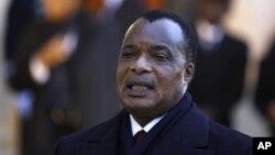 Tổng thống Cộng hòa Dân chủ Congo Denis Sassou-Nguesso