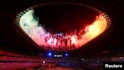 Okwenzakala namuhla kugqitshwa imidlalo yeTokyo 2020 Olympics kwele Japan. REUTERS/Amr Abdallah Dalsh TPX IMAGES OF THE DAY