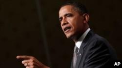 奥巴马为民主党人争取选民