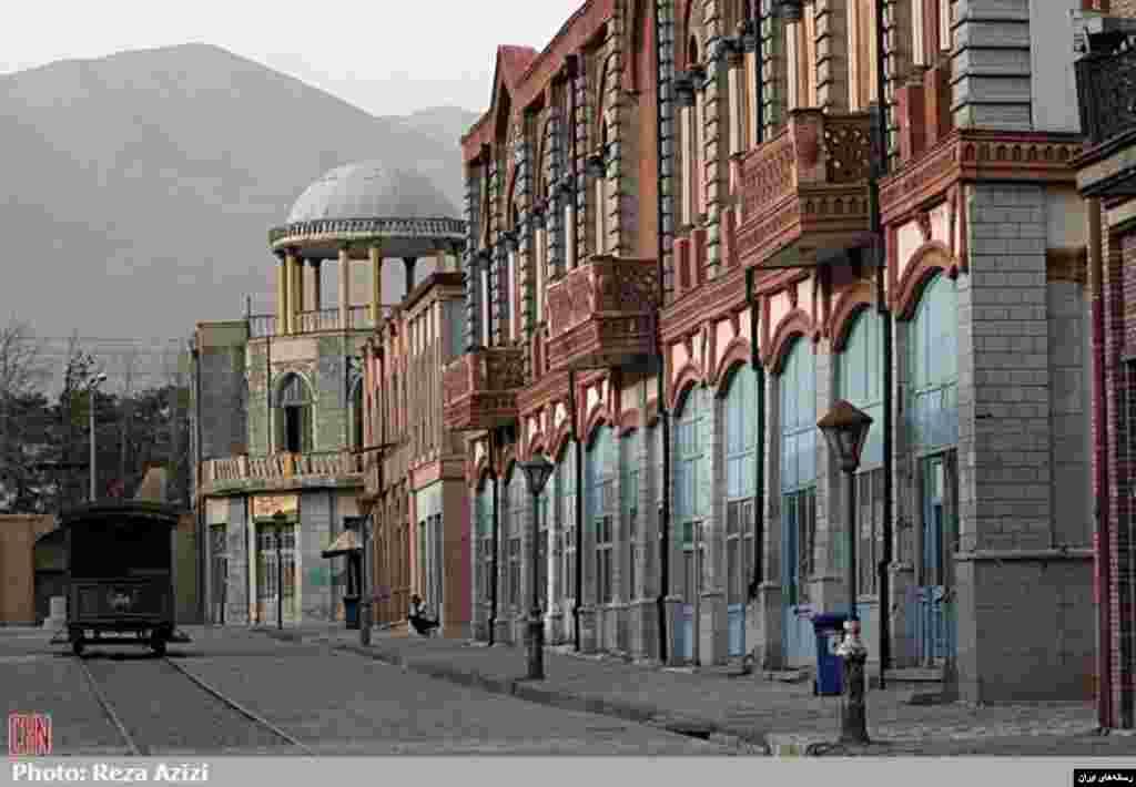 شهرک سینمایی غرالی، واقع در غرب تهران، به پیشنهاد و ابتکار مرحوم علی حاتمی بنا نهاده شد (خبرگزاری میراث فرهنگی)