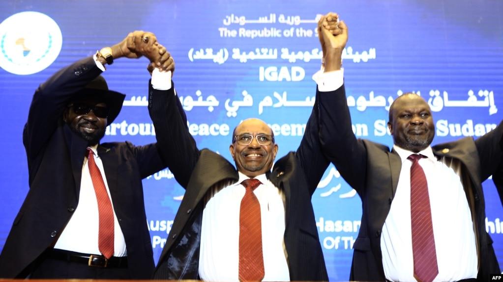 Kiir Machar Sign Cease Fire Deal In Khartoum