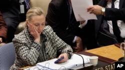 Хиллари Клинтон.Архивное фото 2012г.