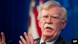 Ông John Bolton, lãnh đạo Hội đồng An ninh Quốc gia Mỹ.