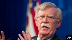 Asesor de seguridad nacional de EE.UU., John Bolton, de visita en Israel, dice que la retirada de fuerzas estadounidenses de Siria no es un compromiso ilimitado. Foto de archivo.