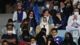 حضور زنان عربستان در ورزشگاه ریاض