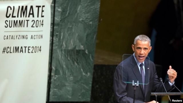 Obama dijo que EE.UU. reducirá la emisión de gases de efecto invernadero un 17% para 2020.