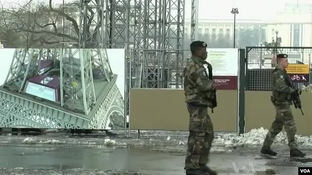Francuska vlada je širom prestonice rasporedila više od 700 vojnika.
