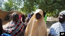 Falmata Abubakar, uma das meninas libertada
