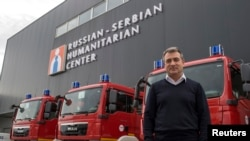 Viktor Safyanov, bashkë-drejtues i qendrës serbo-ruse në Nish të Serbisë