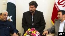 Predsednik Pakistana, Asif Ali Zardari sa Iranskim predsednikom, Mahmudom Ahmadinedžadom