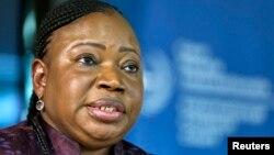 Ketua jaksa ICC Fatou Bensouda tidak keberatan dengan penundaan tanggal sidang pengadilan bagi Presiden Kenya (foto: dok).