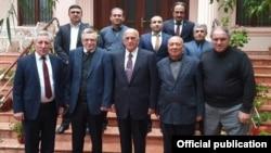 Haqq Ədalət Partiyasının təşkilat komitəsinin üzvləri