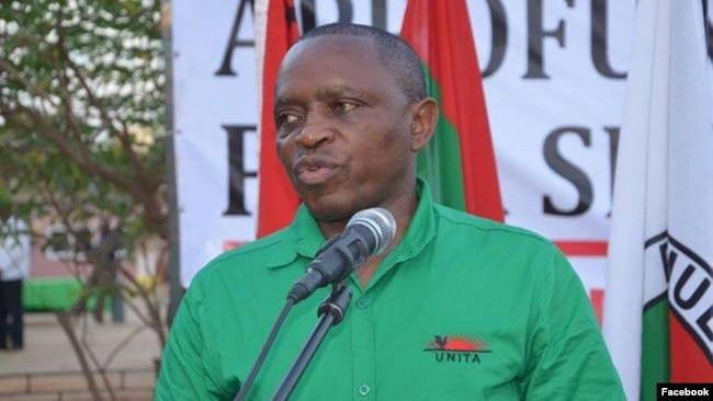 Abílio Kamalata Numa, político da UNITA. Angola